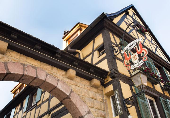 Vin Alsace Baur - Porche