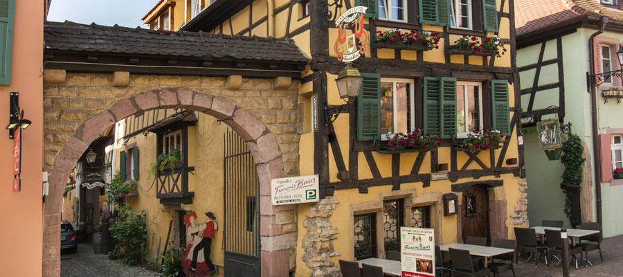 Caveau François Baur - Appellation Vins d'Alsace Contrôlé
