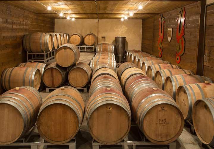 Tonneaux en chêne - Vins Alsace