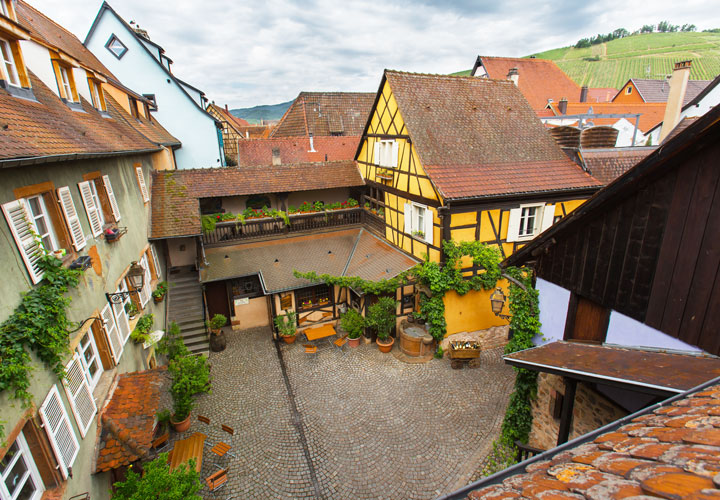 Vin Alsace Baur - Cours